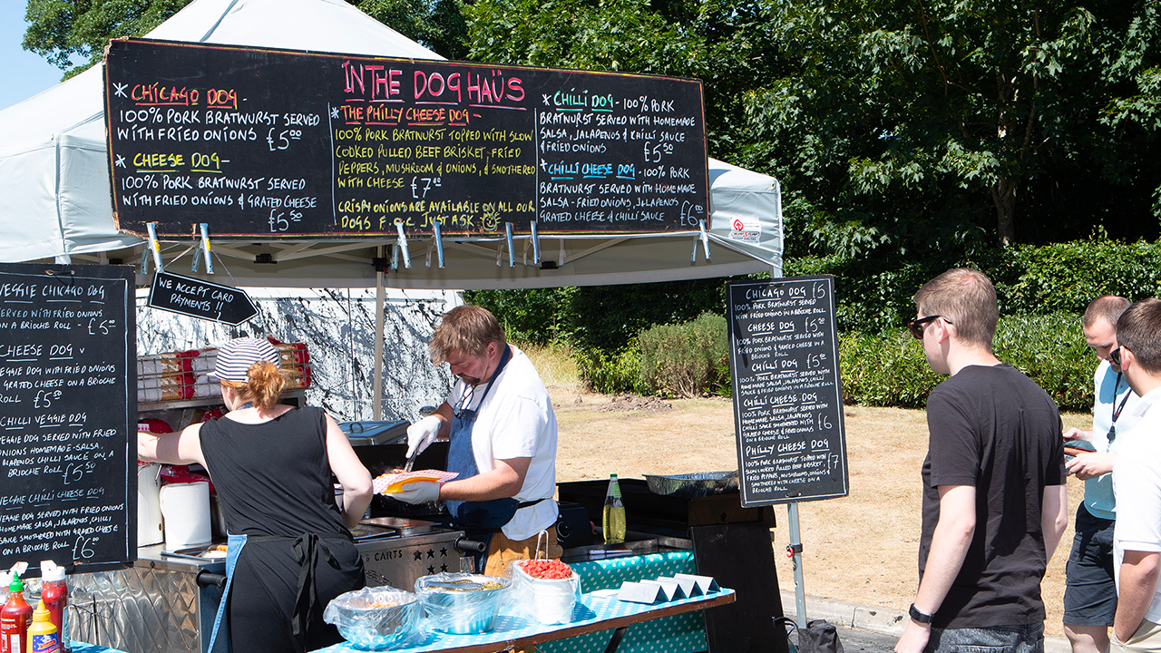 The Dog Haus pop-up hot dog kitchen a success at Tytherington Business Village